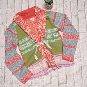 Sundance Gretchen Cardigan Tie Front Sweater
